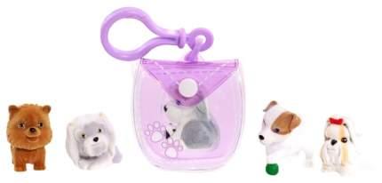 Брелок-сумочка Puppy In My Pocket Щенок 48180-V фиолетовая