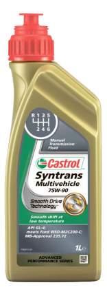 Трансмиссионное масло Castrol Syntrans Multivehicle 75w90 1л 154FA3