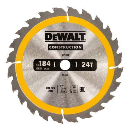 Диск по дереву для дисковых пил DeWALT DT1939-QZ