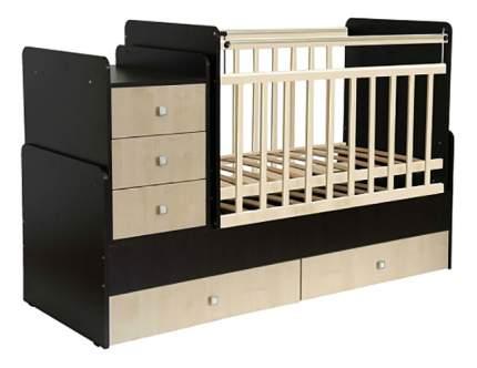 Кровать-трансформер Фея 1100 венге/клен