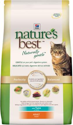 Сухой корм для кошек Hill's Nature's Best, натуральный, тунец, 2кг