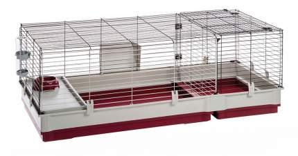 Клетка для кроликов Ferplast 50х60х142см складная конструкция, съемные перегородки