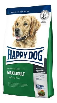 Сухой корм для собак Happy Dog Supreme Fit & Well Maxi, для крупных пород, птица, 4кг