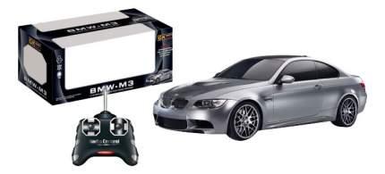 Машинка пластиковая радиоуправляемая GK 1:18 BMW M3 серый