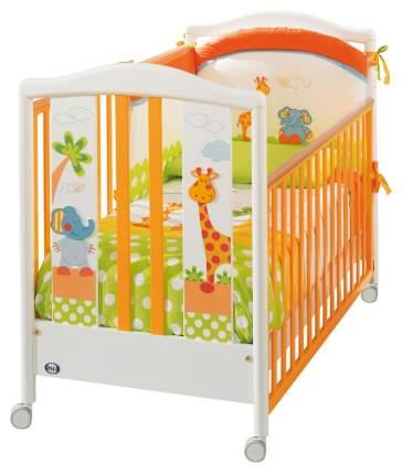 Кровать на колесах Pali Gigi & Lele White-mandarin
