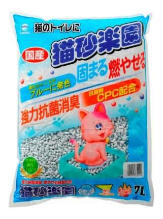 Комкующийся наполнитель для кошек Japan Premium Pet бумажный, 2.4 кг, 7 л
