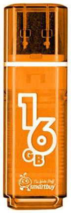 USB-флешка SmartBuy Glossy 16GB Orange (SB16GBGS-Or)