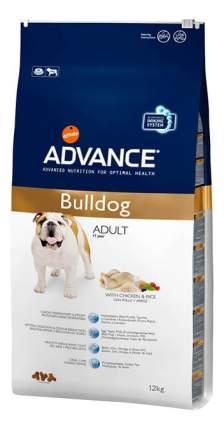 Сухой корм для собак Advance Adult Bulldog BULLDOG, курица, 12кг