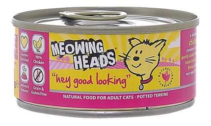 Консервы для кошек Barking Heads Meowing Heads, курица, 100г