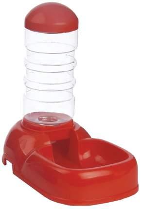 Кормушка-автопоилка для кошек и собак Triol, красный, 0.5 л