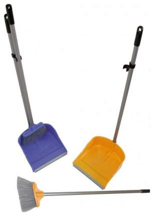 Набор для уборки ROZENBAL R500028 Синий, желтый, серый