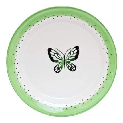 Тарелка FIORETTA Summer joy green 19 см