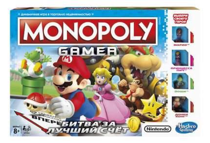 Экономическая настольная игра Hasbro Games Монополия. Геймер