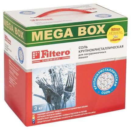 Соль для посудомоечной машины Filtero мегабокс 3 кг