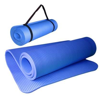 Коврик для йоги Hawk HKEM124-1,5 синий 15 мм