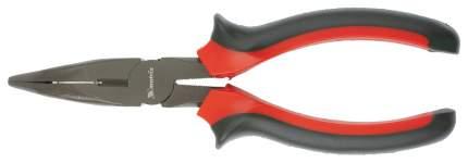 Длинногубцы Black Nickel, 180 мм, изогнутые, двухкомпонентные рукоятки// MATRIX 17460