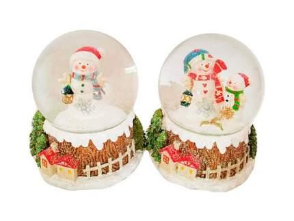 Снежный шар Новогодняя сказка Снеговик 6,5 см 973000