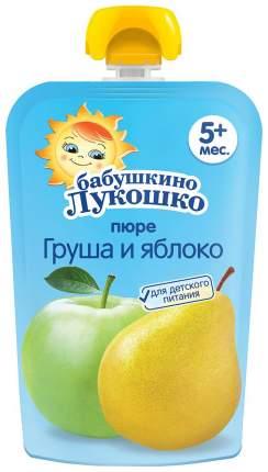 Пюре фруктовое Бабушкино Лукошко Груша-яблоко с 5 мес 90 г