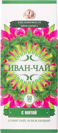 Чай травяной Иван-Чай с мятой 50 г