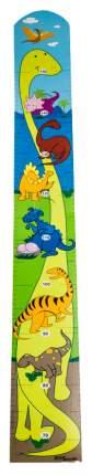 Ростомер детский Step Puzzle динозавры 89015 многоцветный