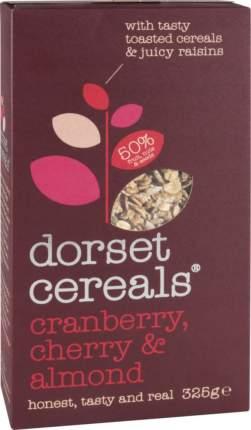 Мюсли многозерновые Dorset Cereals супер клюква вишня и миндаль 325 г