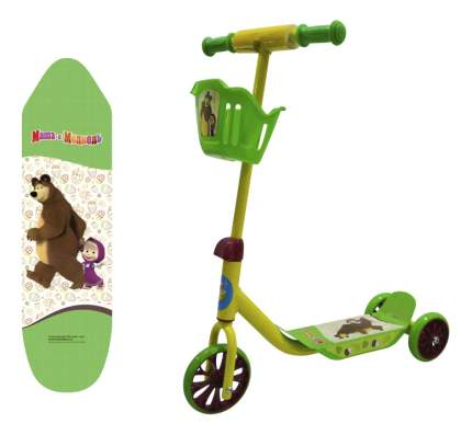 Самокат трехколесный Маша и Медведь 1 TOY Т11701