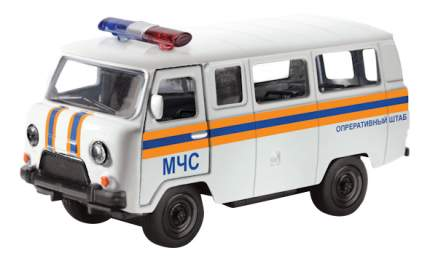 Коллекционная модель УАЗ 39625 - МЧС Play Smart А74786