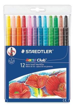 Набор восковых мелков 12 цветов STAEDTLER