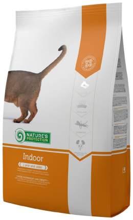 Сухой корм для кошек Nature's Protection INDOOR, для домашних, домашняя птица, 2кг