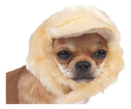 Шапка для собак ТУЗИК №1 меховая, мех, флис