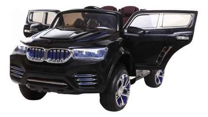Электромобильс открывающимися дверцами черный Baby Carrier DK-F000B