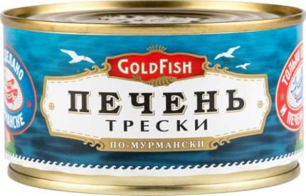 Печень трески GoldFish по-мурмански 190 г