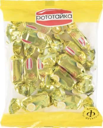 Конфеты лимонные Рототайка на фруктозе 200 г