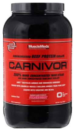 Протеин Musclemeds Carnivor 1160 г Strawberry