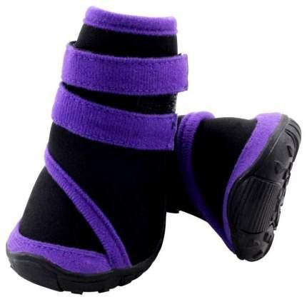 Обувь для собак Triol размер XXL, 4 шт черный