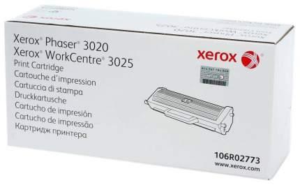 Картридж для лазерного принтера Xerox 106R02773 Черный