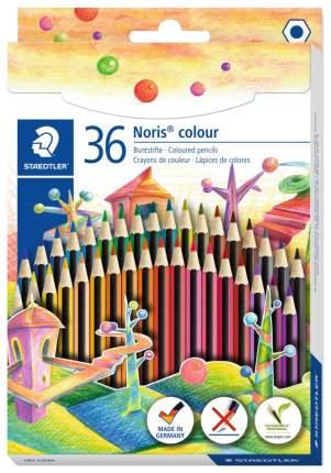 Карандаши цветные Staedtler Wopex Noris Colour 185 36 цветов