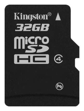 Карта памяти Kingston Micro SDHC SDC4/32GBSP 32GB
