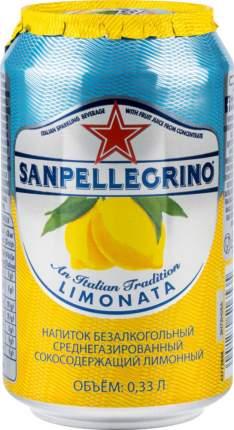 Напиток среднегазированный Sanpellegrino лимонный жестяная банка 0.33 л