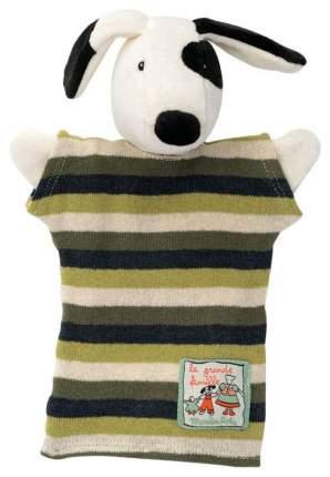 Мягкая игрушка Moulin Roty на руку Пёсик Юлиус 632183
