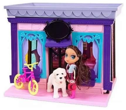 Дом Модный дом ABtoys, в наборе с куклой и мебелью, 120 деталей