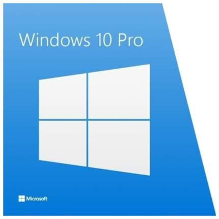 Операционная система Microsoft Windows 10 Профессиональная 64Bit Russian FQC-08909