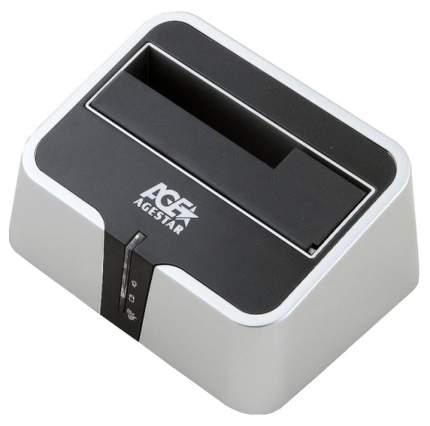 Док-станция для HDD Agestar 3UBT2 SATA HDD Серебристый, черный