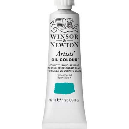 Масляная краска Winsor&Newton Artists светло-бирюзовый кобальт 37 мл