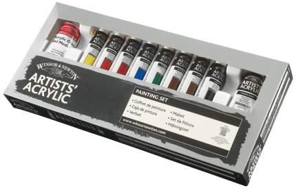 Акриловые краски Winsor&Newton Artists 9 цветов