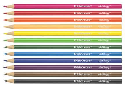 Карандаши цветные ErichKrause Хамелеон 12 цветов