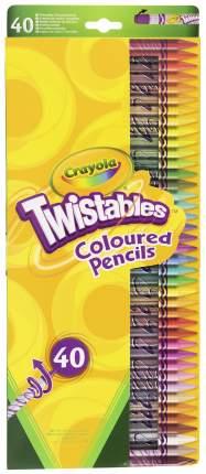Карандаши цветные Crayola 40 шт.