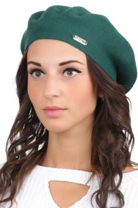 Берет женский FABRETTI S2017-3 зеленый ONE SIZE
