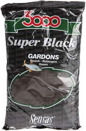 """Прикормка """"Sensas 3000 Super Black Gardons"""", 1 кг"""