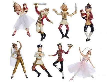 Набор елочных игрушек Kurts Adler Балет щелкунчик W20229 7 см 8 шт.